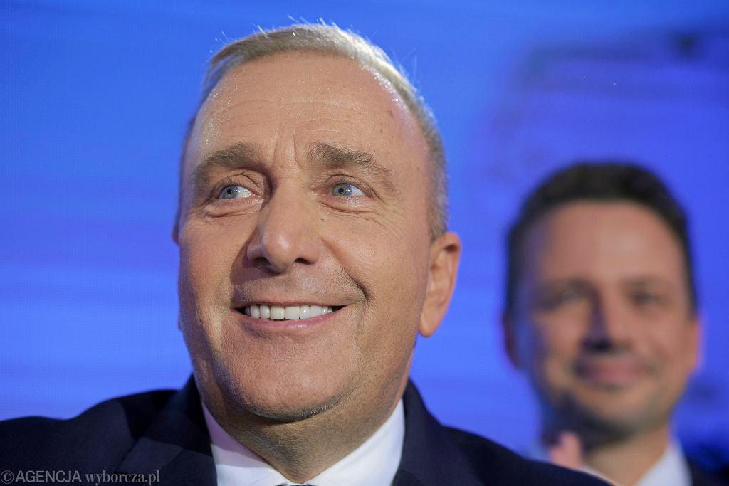 WWybory samorzadowe 2018 - wieczor wyborczy w sztabie Koalicji Obywatelskiej w Warszawie