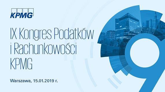 IX Kongres Podatków i Rachunkowości KPMG