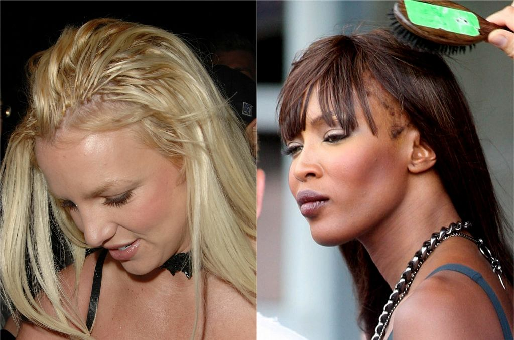 Britney Spears, Naomi Campbell