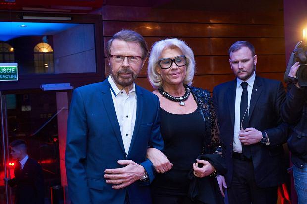 Bjorn Ulvaeus - współzałożyciel zespołu ABBA przyjechał do Teatru Muzycznego Roma na premierę musicalu 'Mamma Mia!' (21 lutego 2015 r.)