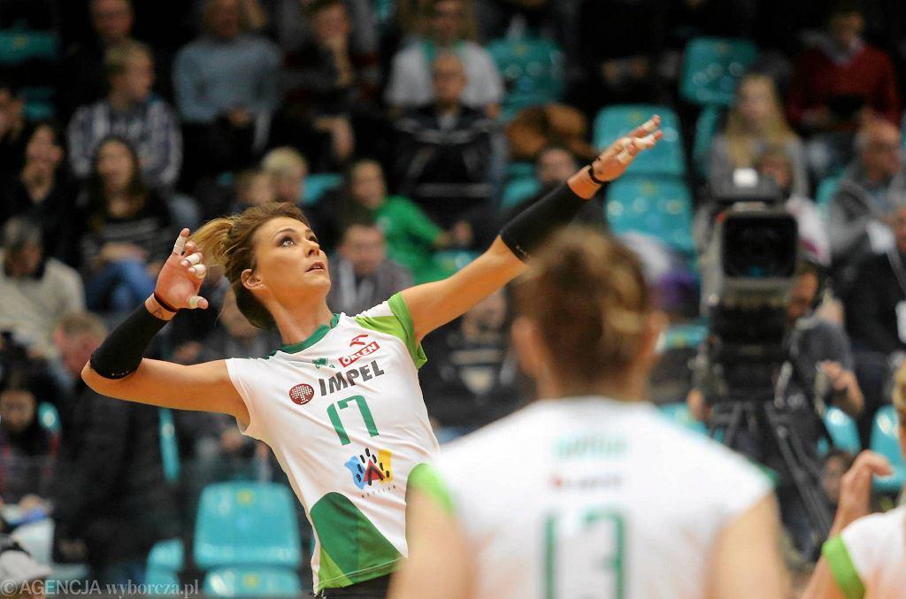 Katarzyna Skowrońska-Dolata zagrała bardzo dobre spotkanie, ale Impel i tak odpadł z Pucharu Polski