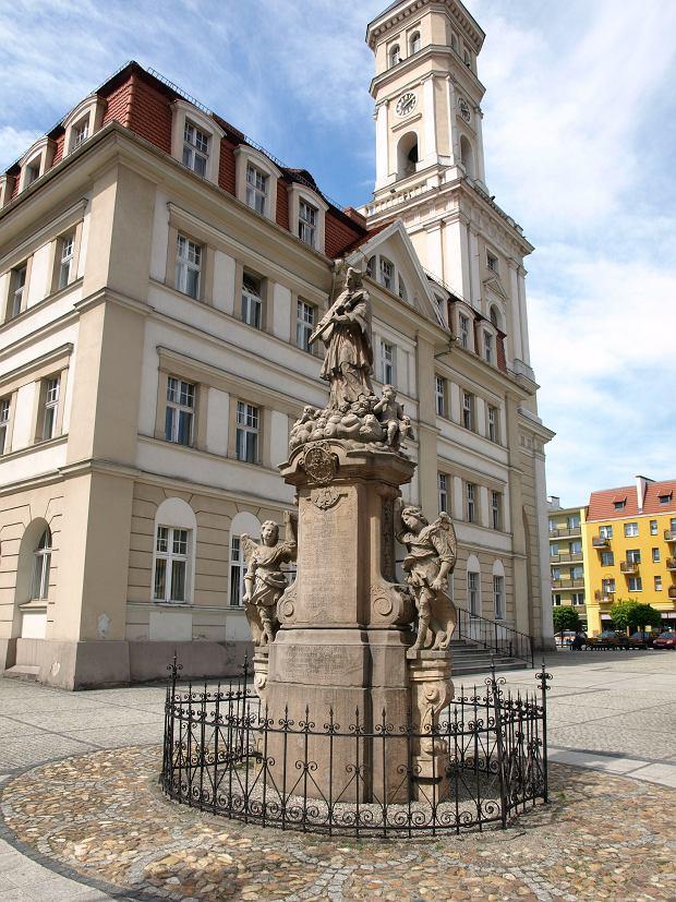 Pomnik czeskiego świętego - Jana Nepomucena
