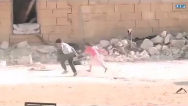 """""""Bohaterski"""" chłopiec w Syrii"""