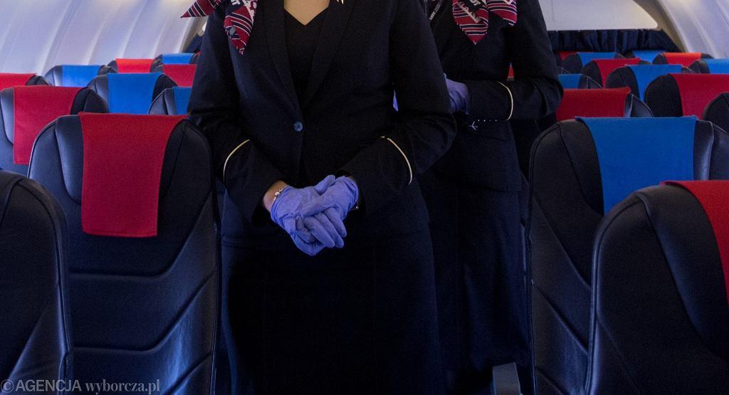 Samolot w czasie epidemii