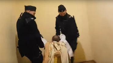 Interwencja policji w Poznaniu