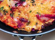 Tortilla z chorizo, czyli hiszpański omlet z ziemniakami - ugotuj