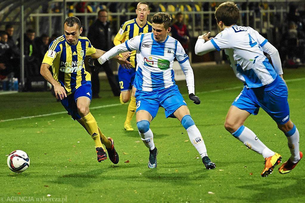 Pierwsza liga. Arka Gdynia - Stomil Olsztyn 0:1