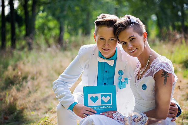 Ślub Moniki i Karoliny we wrześniu 2016 roku