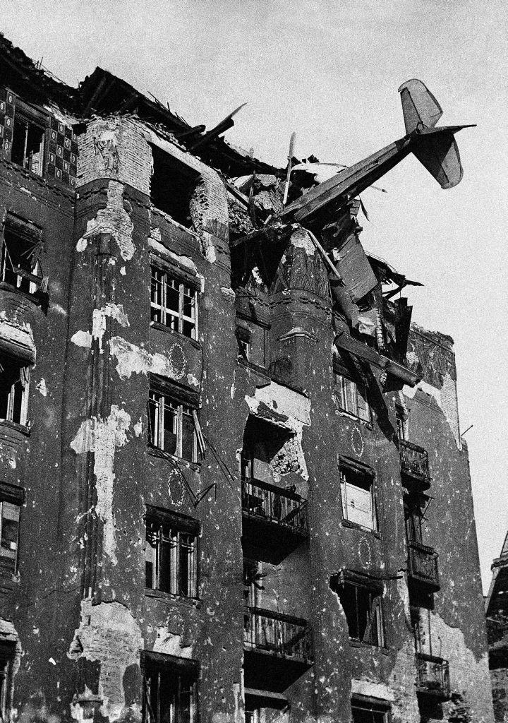 Budapeszt w 1945 r.