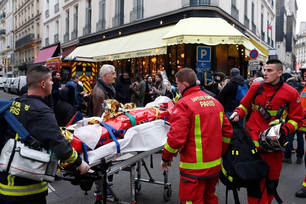 Wybuch w piekarni w Paryżu