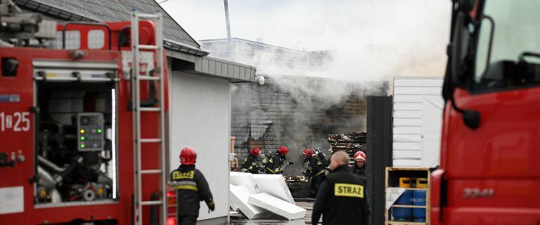 Wybuch butli z gazem w Olsztynie. Trzy osoby przewieziono do szpitala