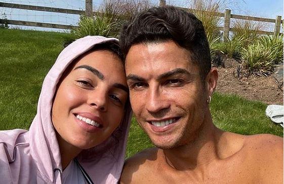Cristiano Ronaldo i Georgina Rodriguez w Manchesterze. Źródło: Instagram