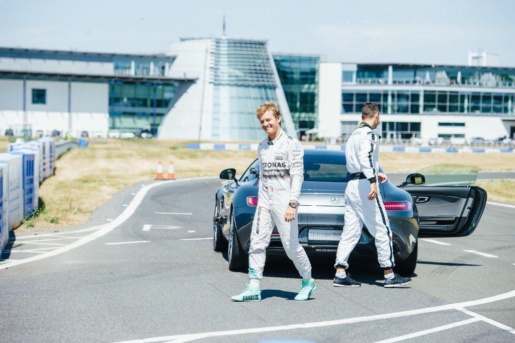The Perfect Drive: Nico Rosberg i Martin Kaymer