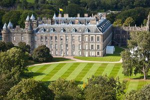 Szkocja Edynburg - wokół pałacu Holyrood