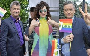 Robert Biedroń, Ramona Rey, Janusz Palikot