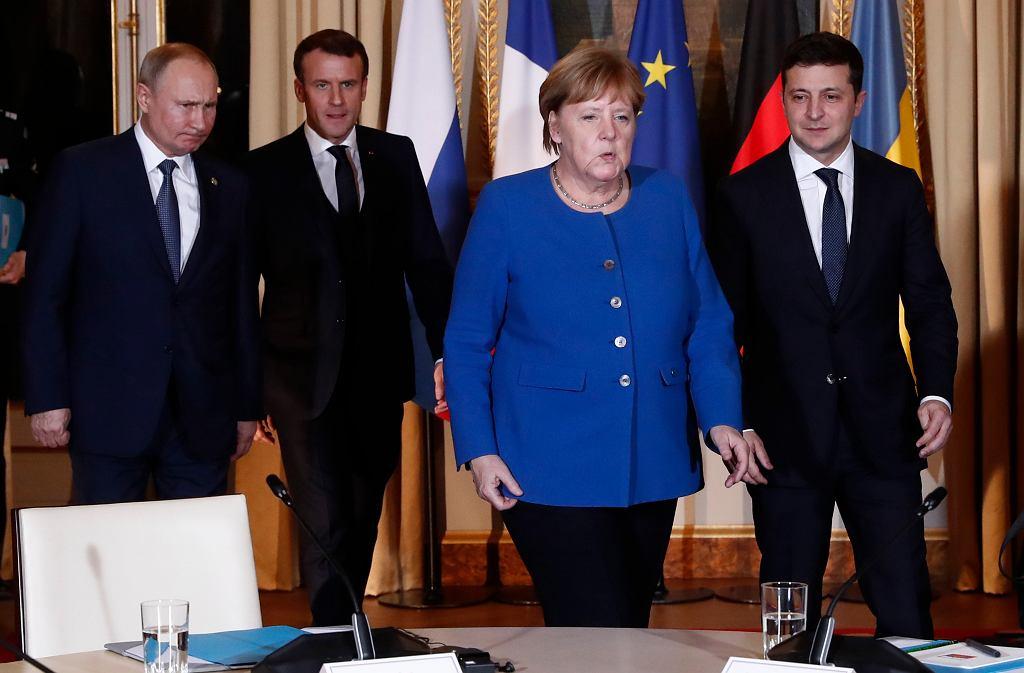 Szczyt w Paryżu dot. Donbasu