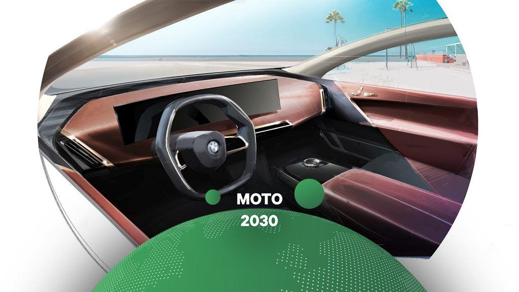Projekt wnętrza BMW iX