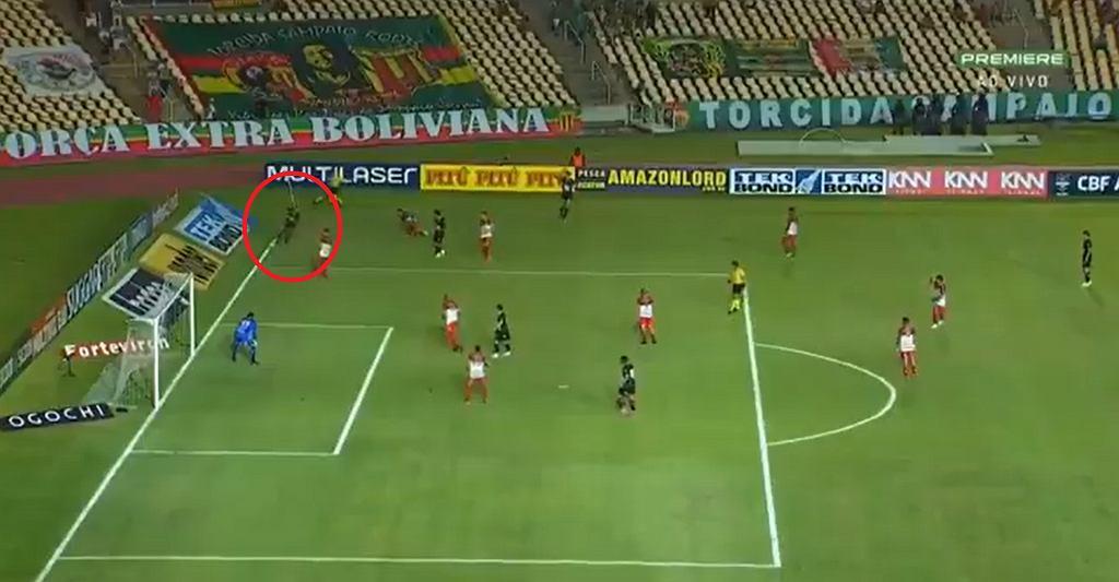 Niebywały gol w Brazylii