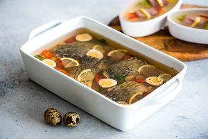 Ryba w galarecie - przepis na wigilijną potrawę
