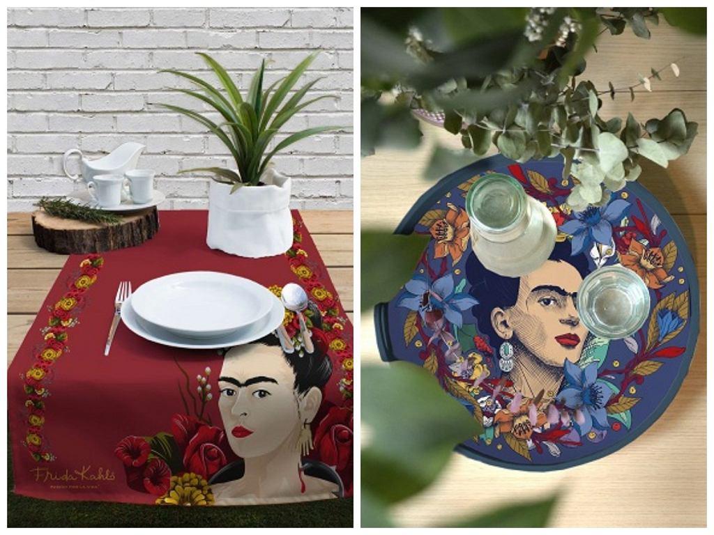Kolorowe dekoracje stołu w jadalni