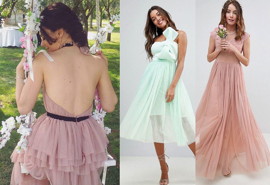 0da0080d12d247 Sukienka z tiulem - romantycznie lub z pazurem. Modele na różne ...