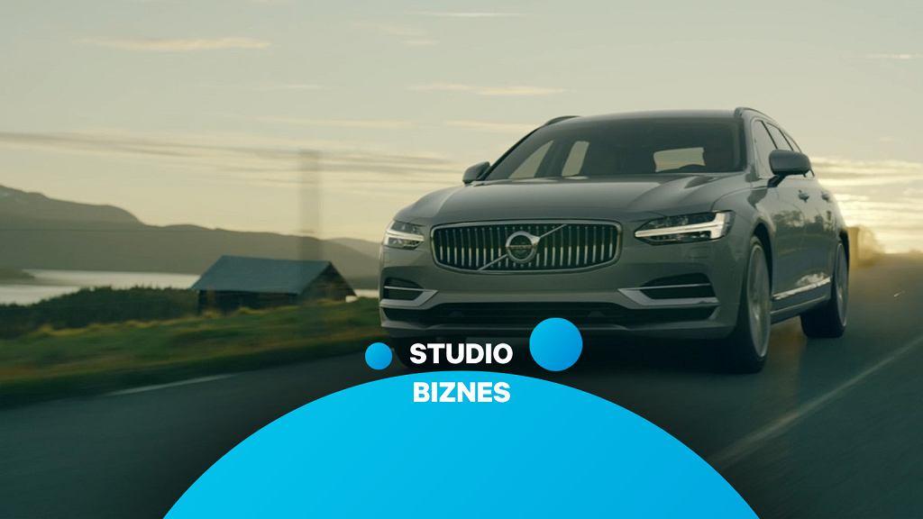 Studio Biznes, odc. 18. Rozmawiamy dzisiaj o przyszłości i hybrydach plug-in Volvo