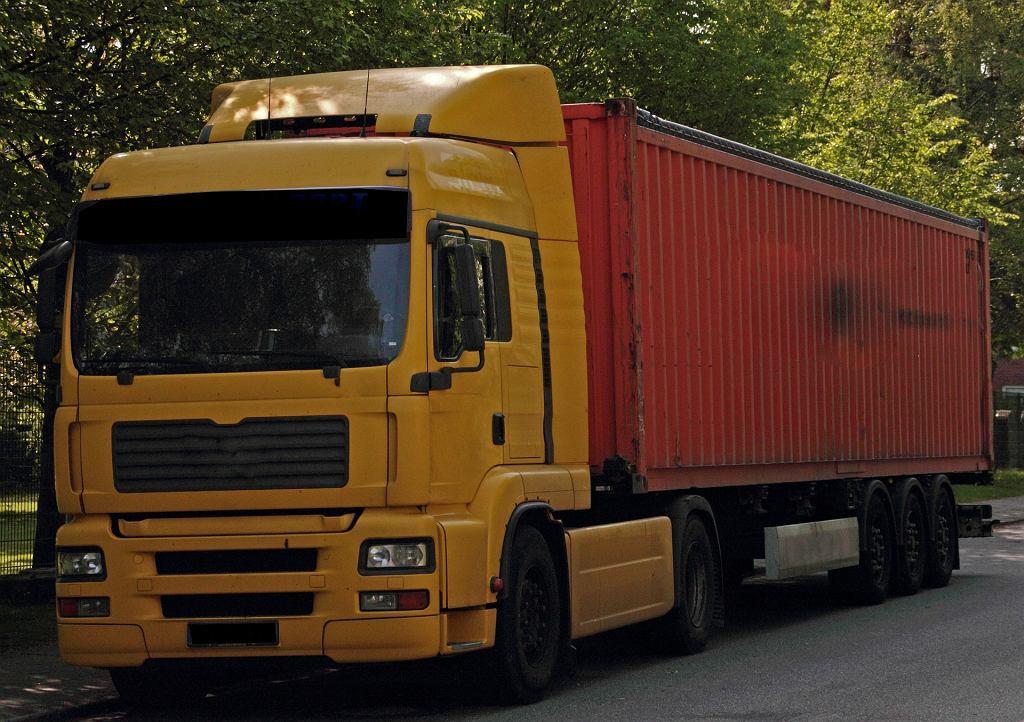 Ciężarówka/zdjęcie ilustracyjne