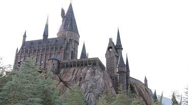 Replika zamku w parku rozrywki w Wyspie Przygód (Orlando, USA)