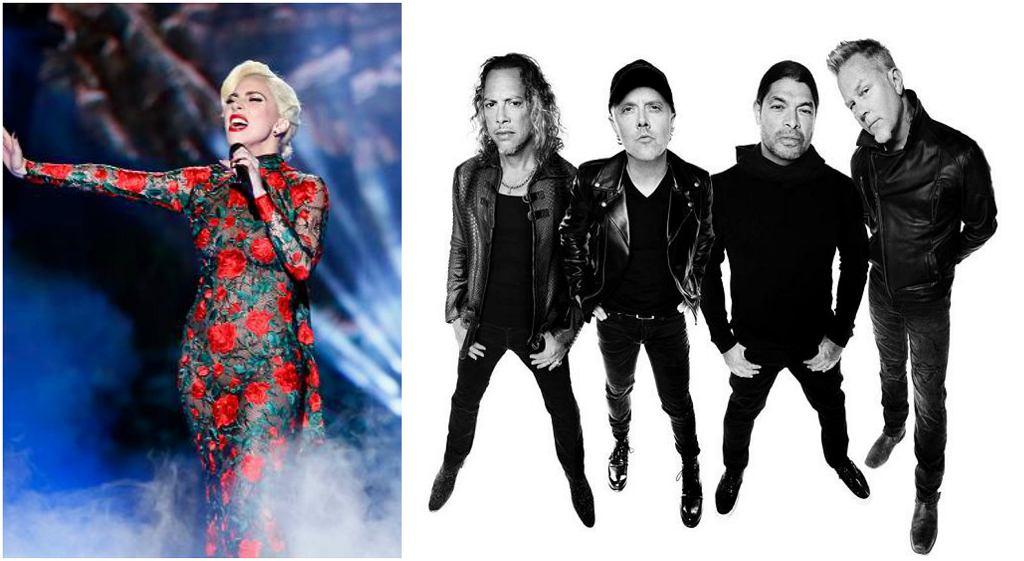 Lady Gaga i Metallica