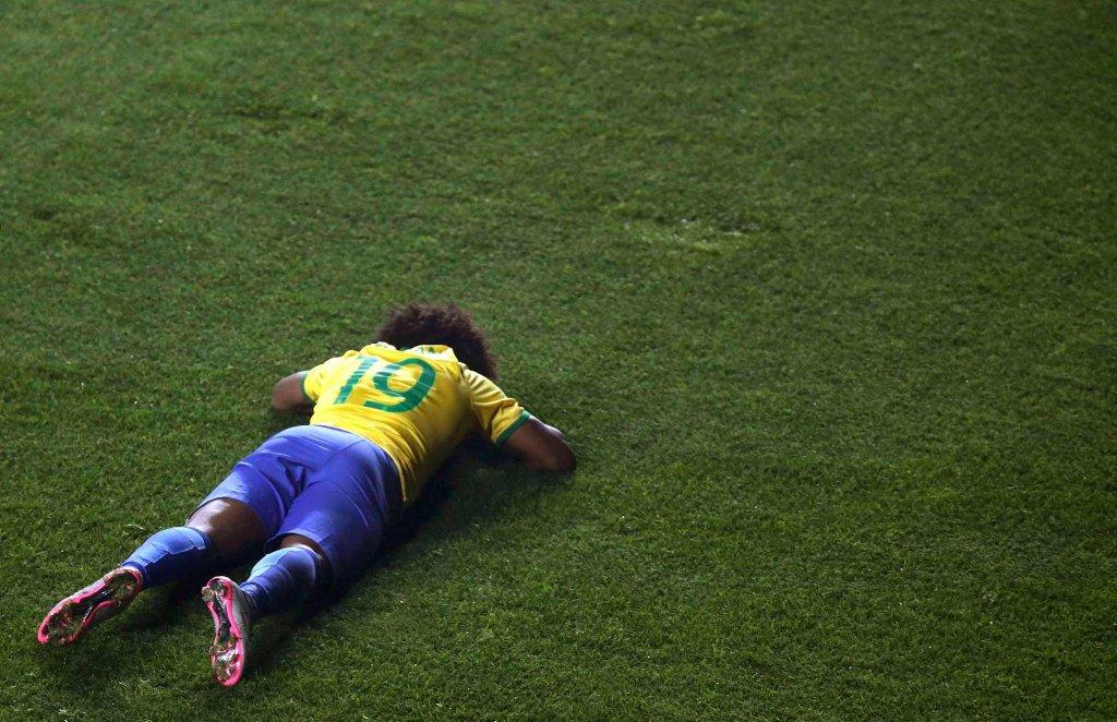 Copa America. Paragwaj - Brazylia 1:1 (4:3 w rzutach karnych). Willian