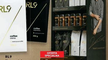 Robert Lewandowski ma własną kawę. RL9 można kupić w sieci Kaufland