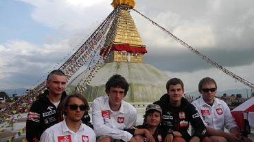 Uczestnicy wyprawy unifikacyjnej na Lhotse