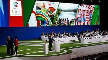 Kongres FIFA, wybory gospodarza mundialu 2026. Prezentacja kandydatury USA, Kanady i Meksyku