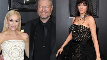 Gwen Stefani, Blake Shelton, Camila Cabello