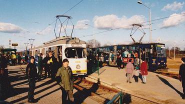 Pestka - otwarcie trasy PST 30 stycznia 1997 roku