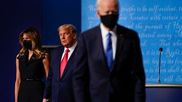 Donald i Melania Trump, Joe Biden