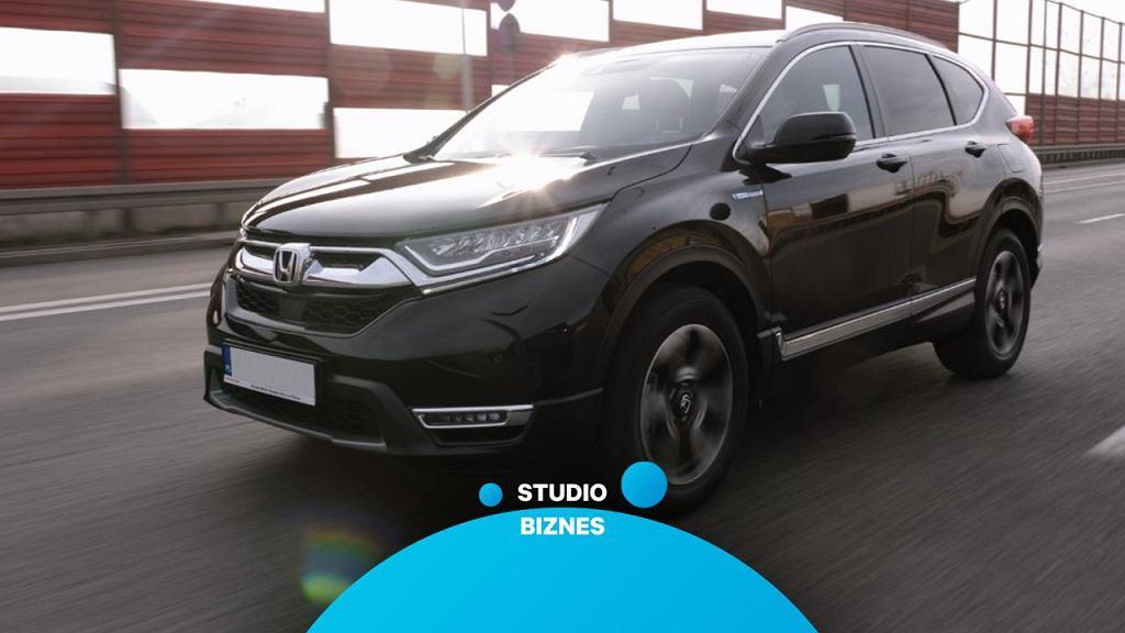 Honda CR-V Hybrid w Studiu Biznes