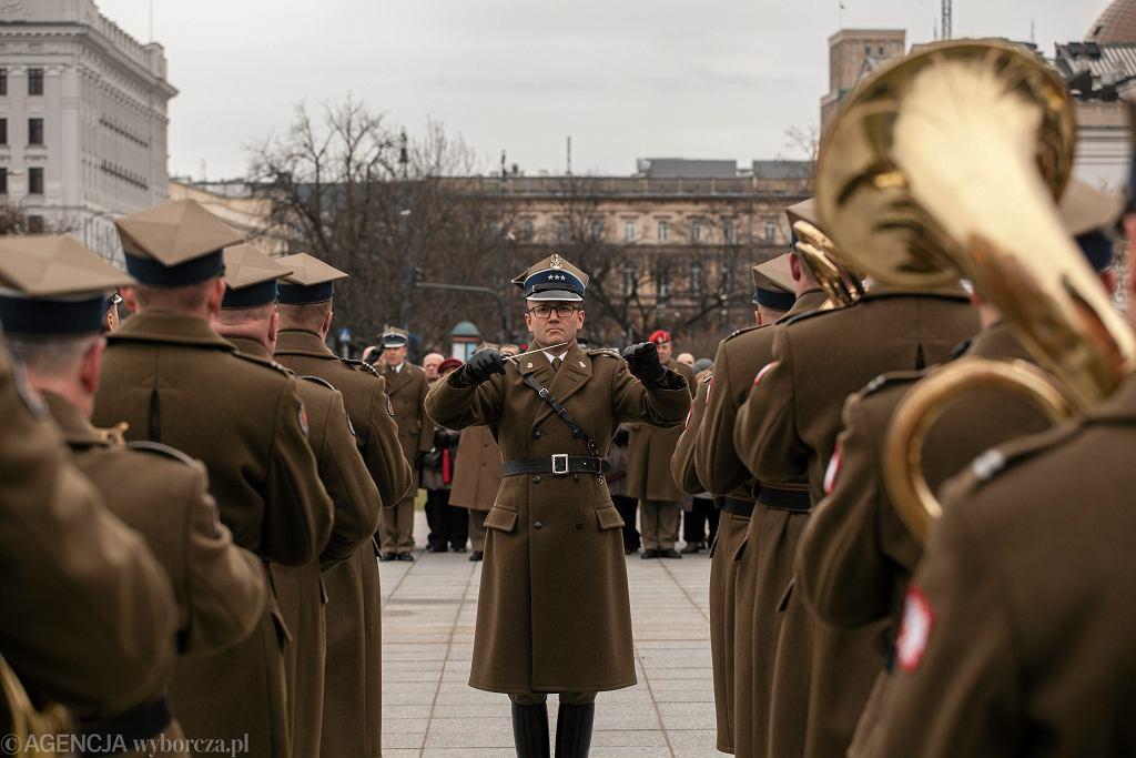 Uroczystość z okazji 90. rocznicy ustanowienia Mazurka Dąbrowskiego hymnem państwowym