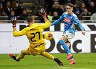 Niespodzianka w Mediolanie. Napoli bliżej finału Pucharu Włoch. Zieliński jednym z najlepszych