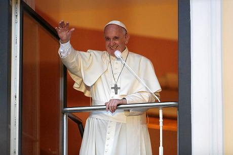 Papież Franciszek (fot. Mateusz Skwarczek / Agencja Gazeta)