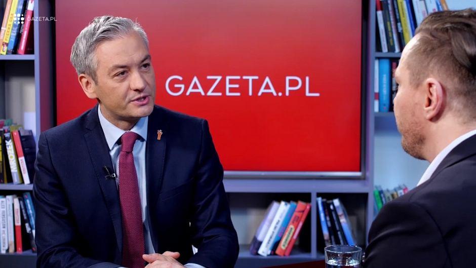 Robert Biedroń w Porannej rozmowie w Gazeta.pl
