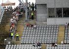 Włókniarz - Stal Rzeszów. Klub wyjaśnia, dlaczego nie włączono sztucznego oświetlenia