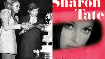 "Roman Polański i Sharon Tate/okładka książki ""Sharon Tate: A Life"""