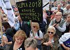 """Spór o Sąd Najwyższy. Małgorzata Gersdorf dziękuje protestującym. """"Budzicie szacunek świata"""""""