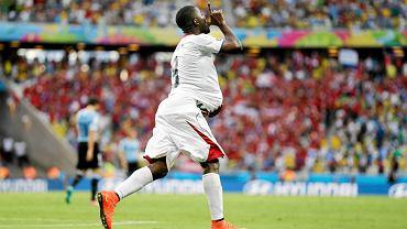 Joel Campbell długo nie chciał oddać piłki, którą strzelił gola na 1:1 z Urugwajem