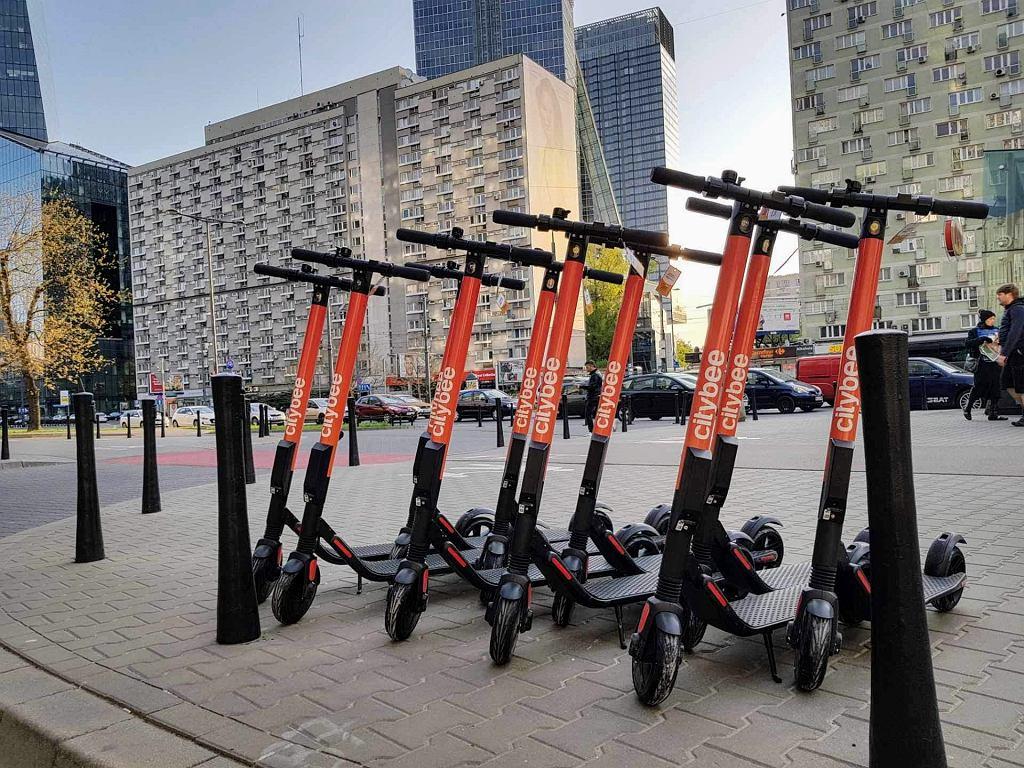 CityBee rusza z hulajnogami elektrycznymi w Warszawie