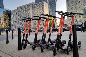 Kolejne 800 hulajnóg na minuty w Warszawie. CityBee startuje z elektrycznymi jednośladami