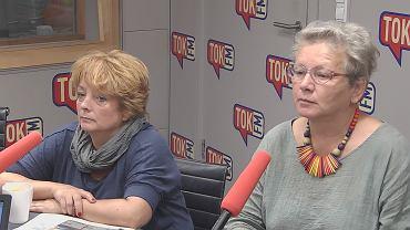 Zuzanna Dąbrowska i prof. Monika Płatek w TOK FM