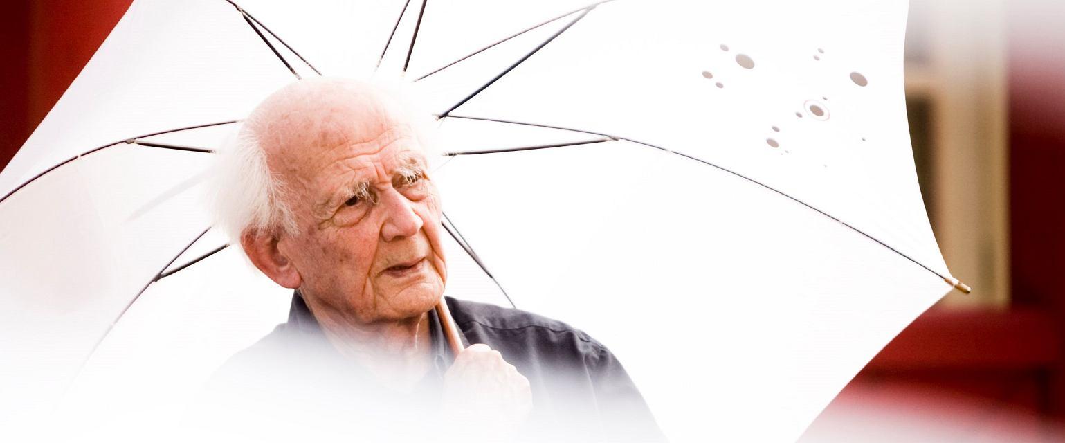 Zygmunt Bauman w 2011 roku (fot. Grzegorz Dąbrowski / Agencja Gazeta)