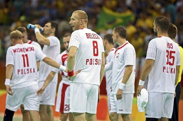 Rio 2016. Trwa mecz Polska - Niemcy w piłce ręcznej